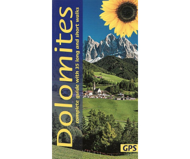 Dolomites - complete guide with 35 long and short walks