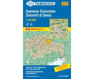 TAB010 Sextener Dolomiten/Dolomiti di Sesto