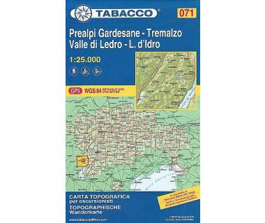 TAB071 Prealpi Gardesane / Tremalzo / Valle di Ledro / L. d'Idro