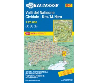 TAB041 Valli del Natisone / Cividale del Friuli / Krn/Monte Nero