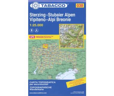 TAB038 Vipiteno, Alpi Breonie