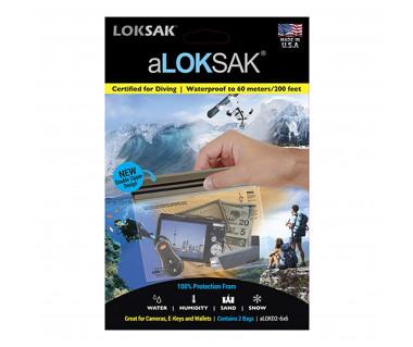 Etui wodoszczelne aLoksak na aparaty, GPS (zestaw 2 szt.)