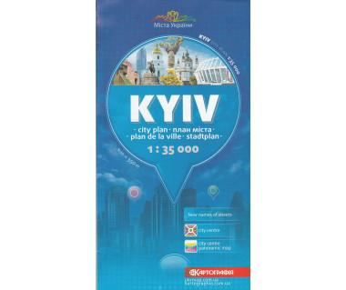 Kijów plan miasta