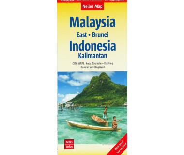 Malaysia East, Brunei, Indonesia Kalimantan (Borneo)