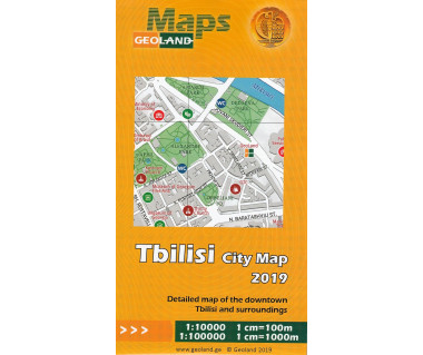 Tbilisi City Map foliowana