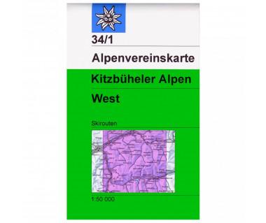 Kitzbuheler Alpen West (34/1 S)