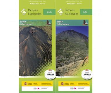 Parque Nacional Teide (komplet 2 map)
