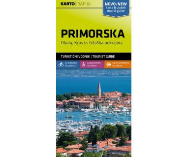 Primorska. Obala, Kras i Trzaska pokrajina