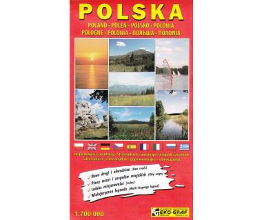 Polska mapa drogowa