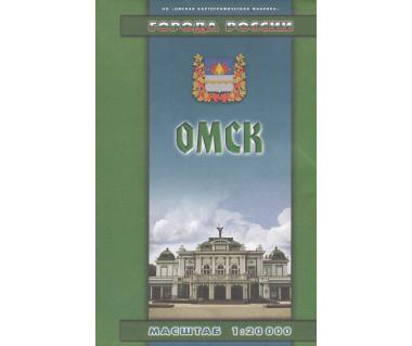 Omsk - mapa miasta i okolic
