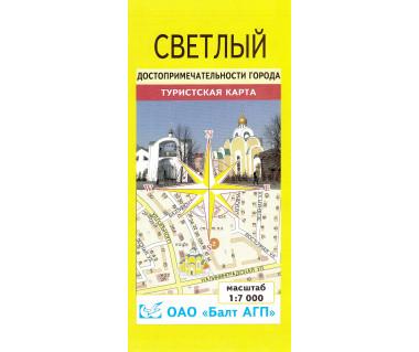 Swietłyj mapa miasta