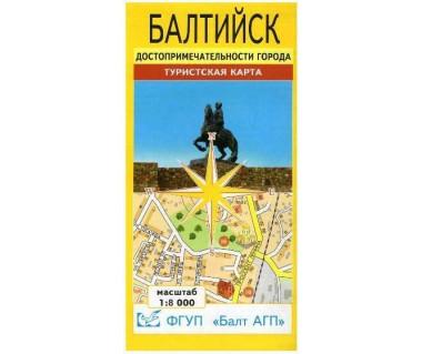 Bałtyjsk mapa miasta