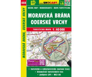 CT40 468 Moravska Brana, Oderske Vrchy