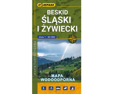 Beskid Śląski i Żywiecki mapa wodoodporna