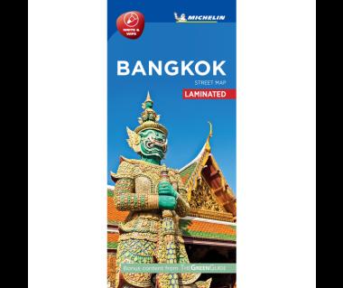 Bangkok - Street Map (laminated)
