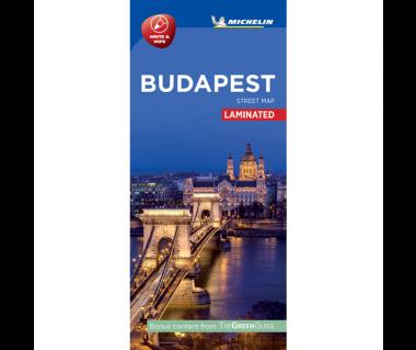 Budapest - Street Map (laminated)