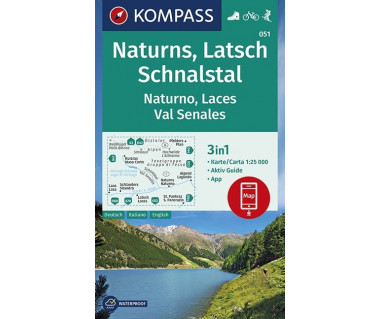 K 051 Naturns/Naturno, Latsch/Laces, Schnalstal/Val Senales