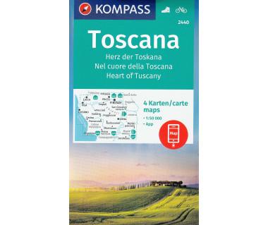 K 2440 Toscana (4 Karten)