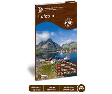 Lofoten mapa turystyczna