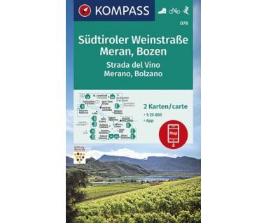 K 078 Südtiroler Weinstraße, Meran, Bozen