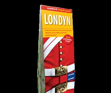 Londyn 2 w 1 (przewodnik i mapa)