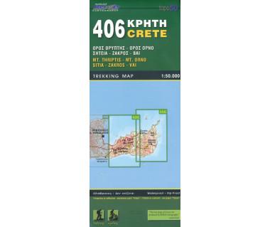 Crete Mt. Thriptis-Mt.Orno-Sitia-Zakros-Vai (406)