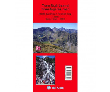 Transfagaras Road Tourist Map