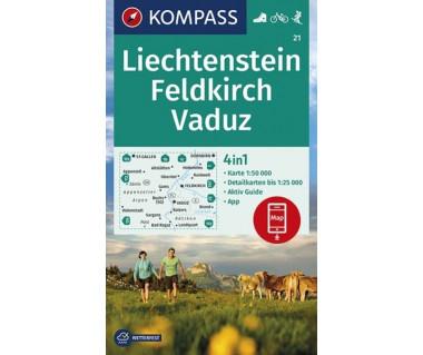 K 21 Liechtenstein, Feldkirch, Vaduz