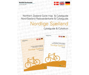 Northern Zealand - Denmark cycle map + guide