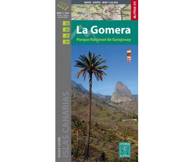 Gomera - PN de Garajonay map& guide