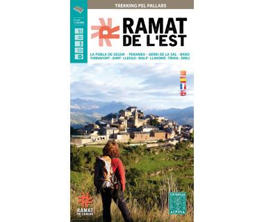 Ramat de l'Est hiking map & guide