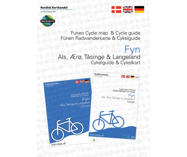 Funen / Fyn - Denmark cycle map + guide