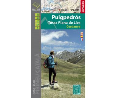 Puigpedros - Tossa Plana de Lles - Cerdanya carte&guide