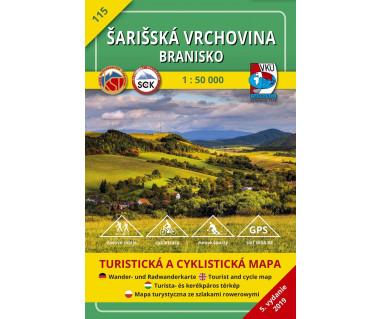 S115 Sarisska Vrchovina-Branisko