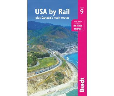 USA by Rail (plus Canada's main routes)