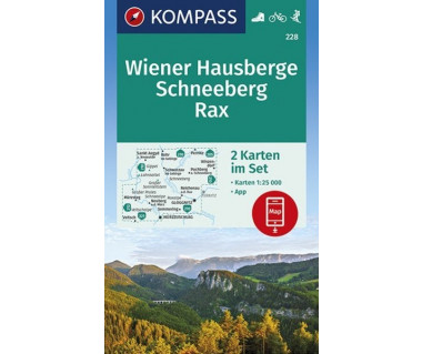 K 228 Wiener Hausberge, Schneeberg, Rax