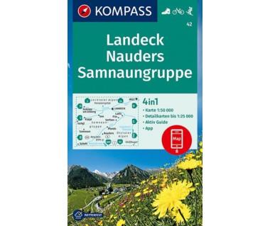 K 42 Landeck, Nauders, Samnaungruppe