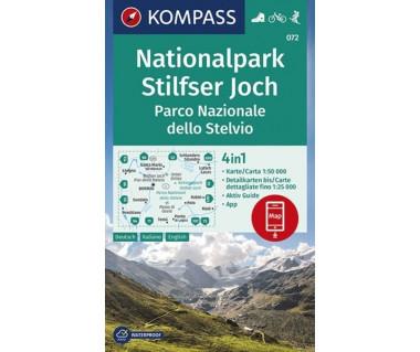 K 072  Nationalpark Stilfserjoch, Parco Nazionale dello Stelvio