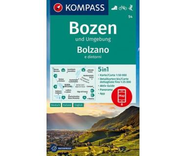K 54 Bozen und Umgebung, Bolzano e dintorni