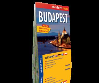Budapest pocket map