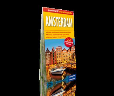 Amsterdam (mapa+miniprzewodnik)