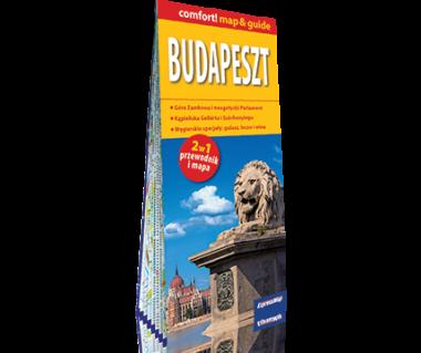 Budapeszt (mapa+miniprzewodnik)