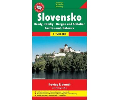 Slovensko. Hrady, zamky
