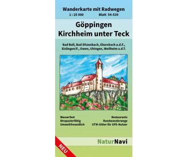 54-539 Göppingen - Kirchheim unter Teck