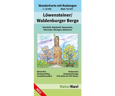 54-544 Löwensteiner / Waldenburger Berge