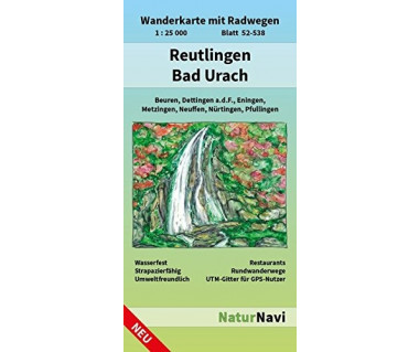 52-538 Reutlingen - Bad Urach