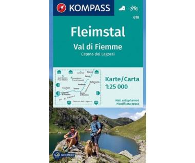 WK 618 Fleimstal, Val di Fiemme, Catena dei Lagorai