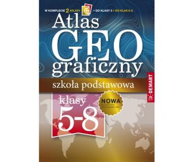 Atlas geograficzny szkoła podstawowa klasy 5-8