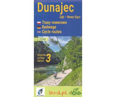 Dunajec (Ząb-Nowy Sącz) trasy rowerowe