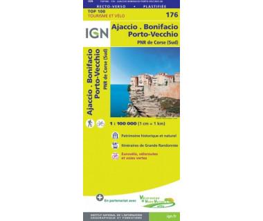 IGN100 176 Ajaccio / Bonifacio